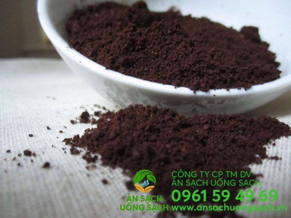 Bã cà phê dùng làm phân bón cho rau và cây trồng