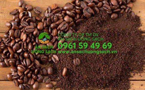 Bã cà phê làm thuốc trừ sâu cho rau